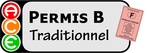 Permis B traditionnel